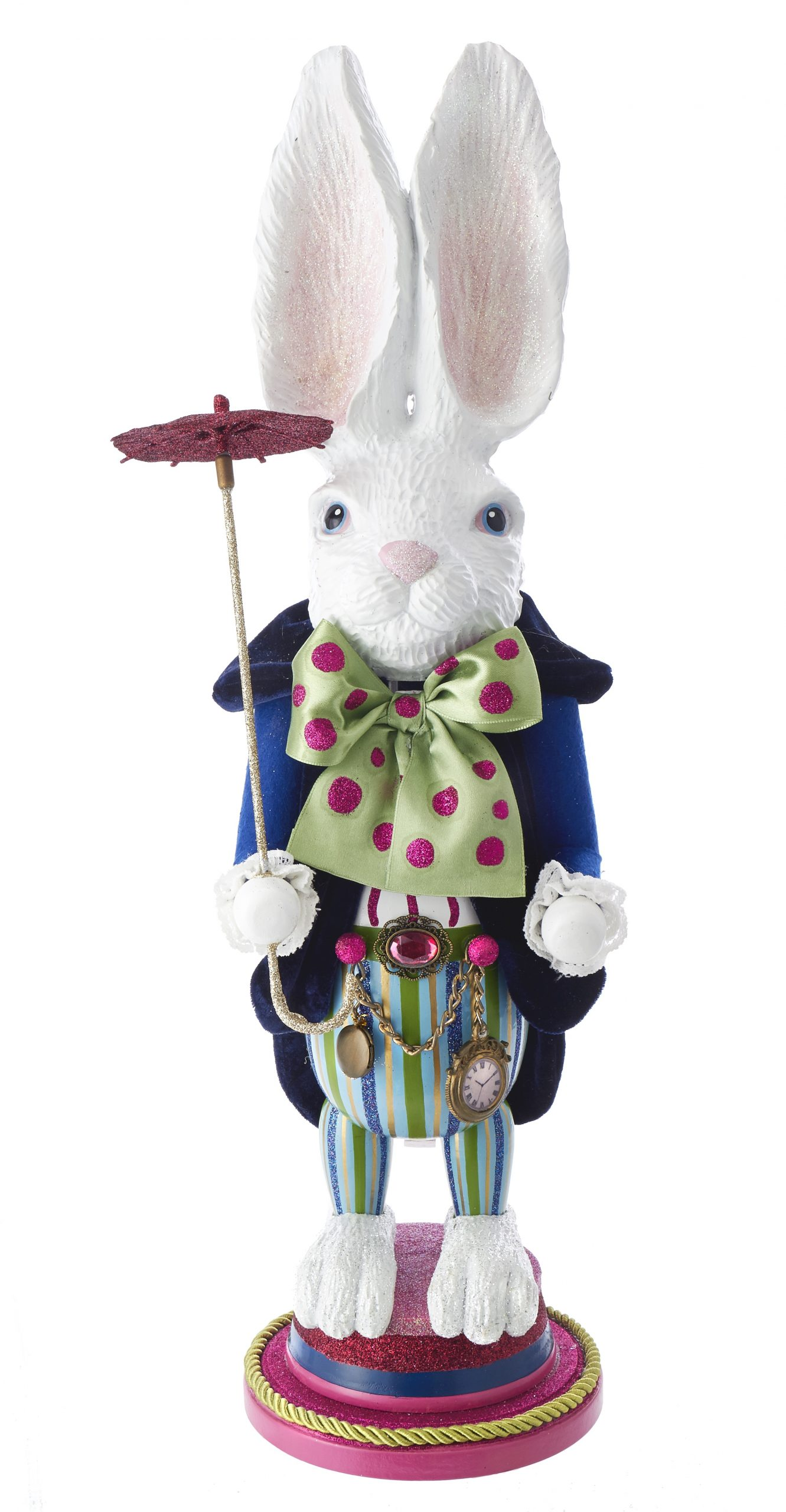 Notenkraker / Nutcracker Hollywood White Rabit het Witte Konijn Alice in Wonderland