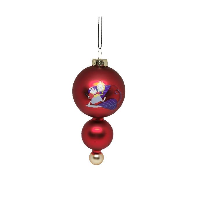 Alice in Wonderland Glas Rabbit / Konijn Ornament Kerstbal Kurt S Adler