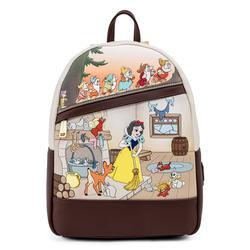Loungefly Disney Snow White And The Seven Dwarfs BackPack / Rugzak – Rugtas met afbeelding van Sneeuwwitje en de zeven Dwergen