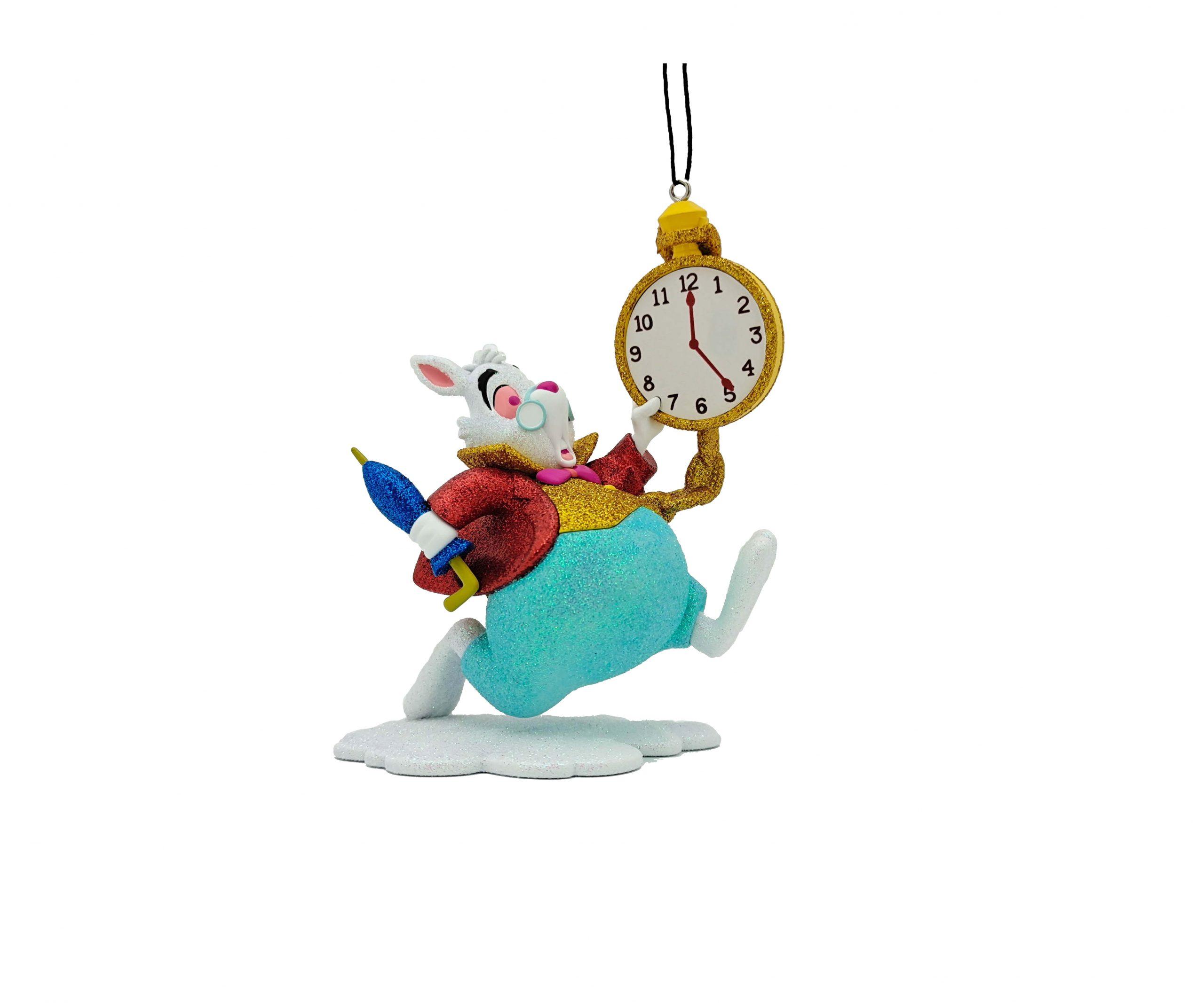Alice in Wonderland Rabbit / Konijn 3D Ornament / Kerstbal Kurt S Adler