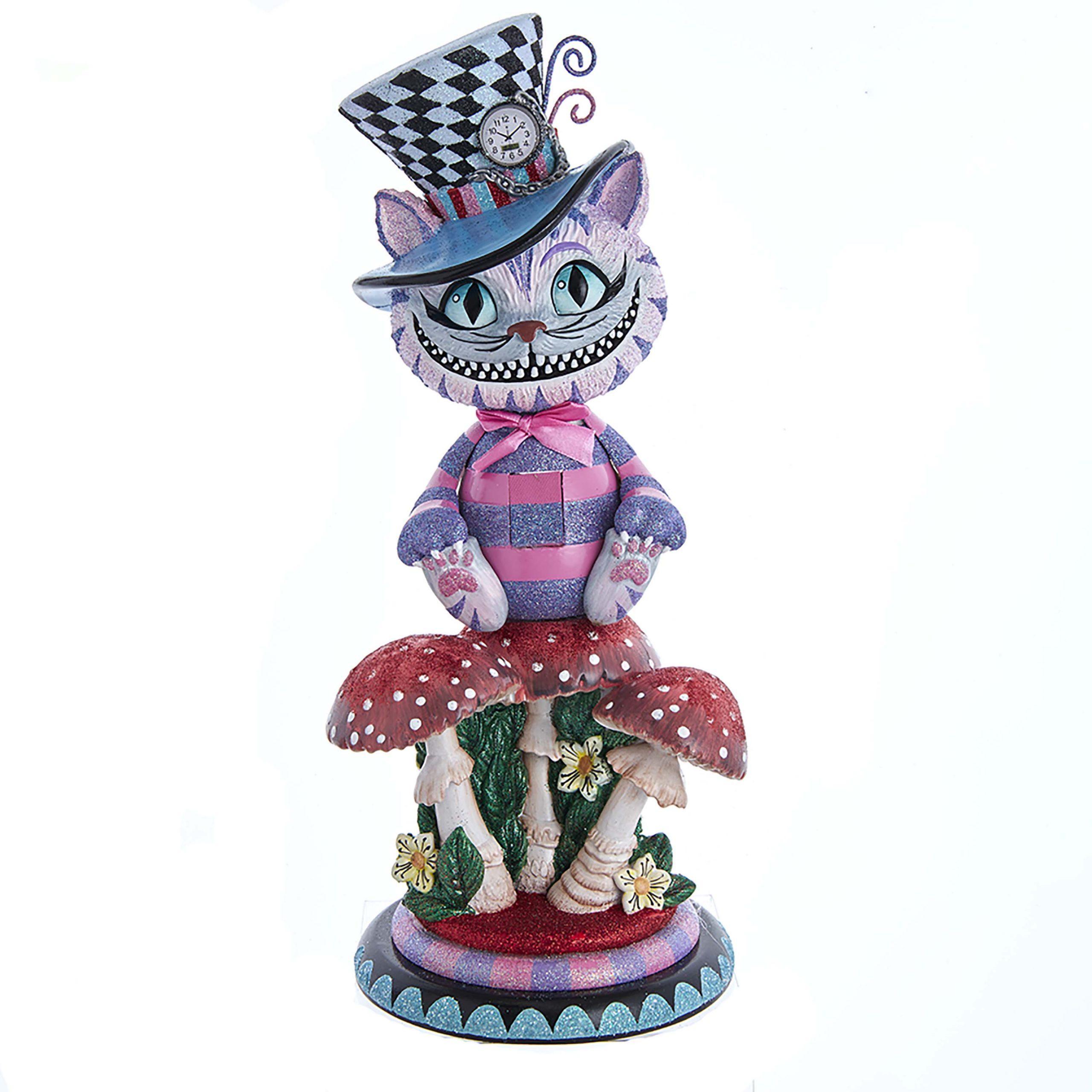 Notenkraker / Nutcracker Alice in Wonderland Hollywood Cheshire Cat / Kolder Kat Kurt S. Adler