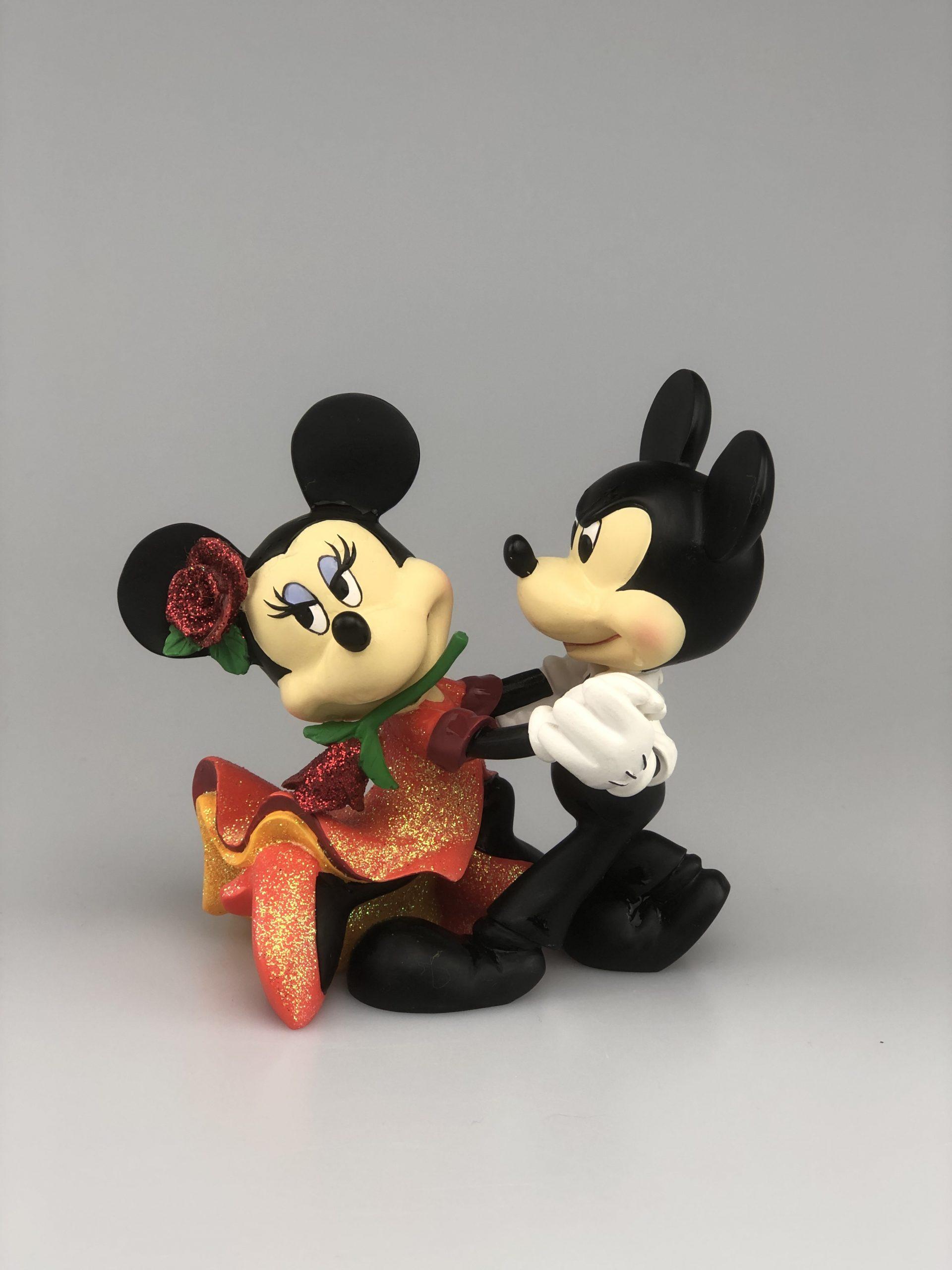 Beeldje Traditions Showcase Mickey & Minnie Tango