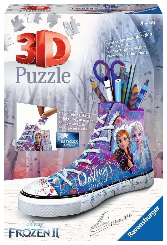 Ravensburger Sneaker Frozen 2 - 3D puzzel - 108 stukjes